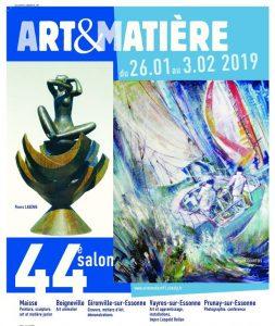 Affiche 44e Salon Art&Matière 2019